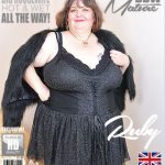 Mature.nl presents Ruby (EU) (48) in British mature BBW Ruby playing with herself – 15.02.2018