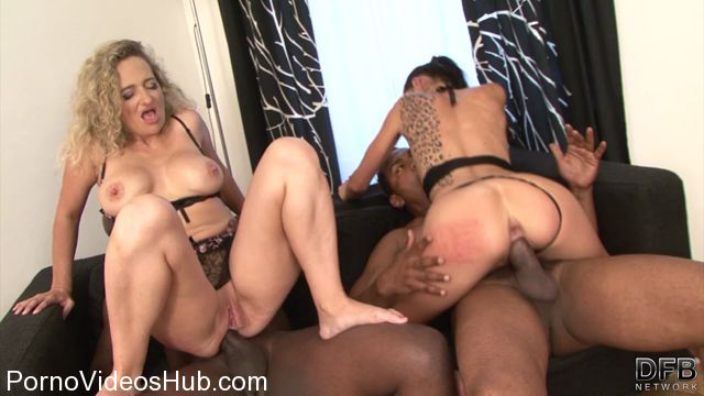 Watch Online Porn – DFBnetwork presents Laura Divis aka Laura Devis, Ameli – Its Better With Two Milfs (MP4, HD, 1280×720)