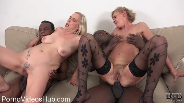 Watch Online Porn – DFBnetwork presents Lilla, Violet – Grannies Interracial BBC Threesome (MP4, HD, 1280×720)
