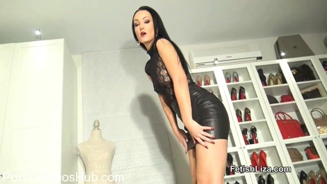 Watch Online Porn – Fetish Liza in Edge for My leather and lace boots (MP4, HD, 1280×720)