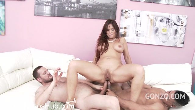LegalPorno presents Busty milf Syren De Mer in rough 4on1 with double anal SZ1908 – 06.02.2018