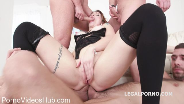 LegalPorno presents Monsters of DAP with Adreena Winters 5on1 No Pussy Hard Balls Deep Dap TP Tunner Vision Gapes Messy Facial GIO548 – 03.02.2018