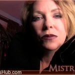 Mistress T in Vampire Seduces With Boots and Gloves