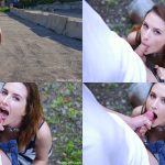 ManyVids Webcams Video presents Girl Piper Blush in Playful Blowjob in a Public