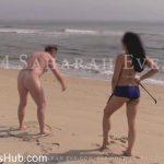 Saharah Eve in Beach Workout