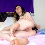 Sammy Sable in Massive T-Rex Anal Ass to Mouth
