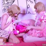 SashadeSade.xxx presents Sasha de Sade in Sissy Toy Party – 05.02.2018
