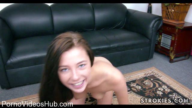Watch Online Porn – Strokies presents Innocent Looking Carolina Ball Sucking Handjob (MP4, FullHD, 1920×1080)