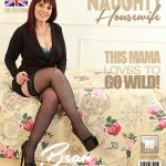 Mature.nl presents Beau Diamonds (EU) (49) in British housewife Beau Diamonds fooling around – 10.03.2018