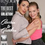 Mature.nl presents Caterina (40), Gretchen (18) in Hot babe having fun with a naughty mature lesbian – 28.03.2018