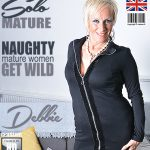 Mature.nl presents Debbie (EU) (53) in British housewife Debbie playing with herself – 06.03.2018