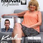 Mature.nl presents Katalina (66) in fresh mature lady Katalina doing her toyboy – 03.03.2018