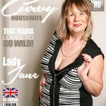 Mature.nl presents Lady Jane (EU) (64) in British curvy Mature Lady Jane playing with herself – 01.03.2018