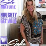 Mature.nl presents Sasha (54) in American housewife Sasha playing with herself – 29.03.2018