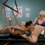 WhippedAss presents Helena Locke & Nikki Darling in Lesbian Orgasm Clinic: Hot Patient Prescribed BDSM Squirting Therapy – 16.03.2018