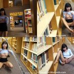 ManyVids Webcams Video presents Girl Littlesubgirl in Busy Public Library Fuck, Anal, & Squirt