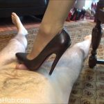 Fetish Lady Imperatriza presents Dominant Cock Games With My 6 Inch Italian Mori Luxury Court Shoes