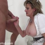 Lady-Sonia presents Lady Sonia in Busty Milf Nurse Barebacked Hard