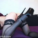 ManyVids presents XandriaGoddess in Buttplug tease and anal gape