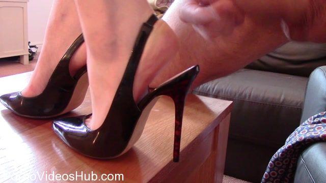 Watch Online Porn – Shiny Shoejobs presents Slingback Cum Filling (MP4, FullHD, 1920×1080)