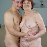 LustyGrandmas presents Marsha, Rob in Redheaded Granny Wants Some Cock – 22.03.2018