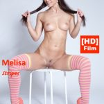 NudeBeauties presents Melissa – Kristina Uhrinova in Stripes – 1080