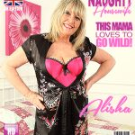 Mature.nl presents Alisha (EU) (58) in British curvy housewife Alisha playing with her toys – 14.04.2018