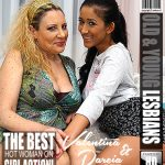 Mature.nl presents Darcia Lee (19), Valentina (51) in Horny old and young lesbian couple fooling around – 14.04.2018