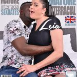 Mature.nl presents Leia Organa (EU) (48) in British housewife Leia goes interracial – 06.04.2018