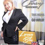 Mature.nl presents Lorna Blu (EU) (57) in British curvy housewife Lorna Blu showing off her big tits – 26.04.2018