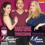 Mature.nl presents Montse Swinger (EU) (39), Musa Libertina (EU) (53) in Spanish housewives Montse Swinger and Musa Libertina having a threesome – 03.04.2018