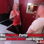 MyDirtyHobby presents Daynia – Die verhurte Party-Schlampe – Hier kommt jeder zum Schuss – The bum party slut! Everyone gets their shot!