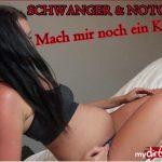 Mydirtyhobby presents FariBanx – Schwanger und Notgeil – Mach mir noch ein Kind – PREGNANT & NOTGEIL! Make me another child – 25.03.2018