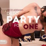 Virtualrealtrans presents Cece Addams in Dildo Party For One – 14.04.2018
