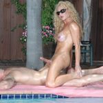 FoxyAngel presents Foxy Angel in Poolside Massage