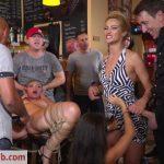 PublicDisgrace presents Cherry Kiss, Vyvan Hill, Steve Holmes, Chad Rockwell in Sexy Serbian Submissive Anal Slut Vyvan Hill – 16.04.2018