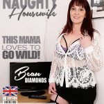Mature.nl presents Beau Diamonds (EU) (49) in British housewife Beau Diamonds playing with her toys – 29.05.2018