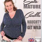 Mature.nl presents Camilla C. (EU) (45) in British big breasted housewife Camilla fooling around