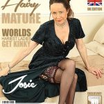 Mature.nl presents Josie (EU) (52) in British hairy housewife Josie fooling around – 04.05.2018
