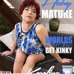 Mature.nl presents Karolina K. (58) in hairy housewife fingering herself – 16.05.2018