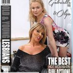 Mature.nl presents Miss Gabrielle Fox (EU) (53), Olga K. (26) in Hot old and young lesbians playing with eachother