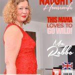 Mature.nl presents Mrs. Robbo (EU) (52) in British mature Mrs. Robbo fingering herself – 28.05.2018