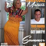 Mature.nl presents Summer (40) in chubby housewife Summer doing her toyboy