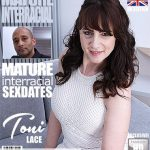 Mature.nl presents Toni Lace (EU) (52) in British naughty housewife Toni Lace goes interracial – 04.05.2018