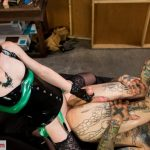 TSseduction presents Miss Natalie Mars Disciplines Tattooed Hunk With Her Cock – 15.05.2018