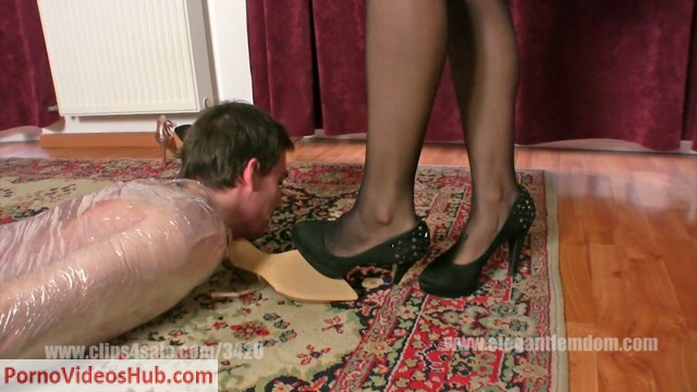 Watch Online Porn – ElegantFemdom presents Mistress Lucy in shoes in order (MP4, FullHD, 1920×1080)
