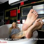 Extreme Feet POV presents Goddess Roxen in JOI of your life