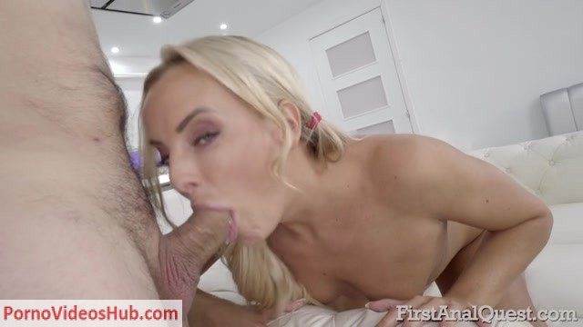 Watch Online Porn – FirstAnalQuest presents Blonde babe Victoria Pure gets her first anal sex – 31.05.2018 (MP4, SD, 800×450)