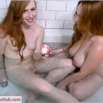 ManyVids presents Shiri Allwood & Summer Hart in Shiri and Summer Take a Bath