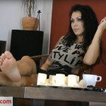 Boot Heel Worship Cbt Humiliation presents Lady Electra in Lady Electras Sweaty Soles